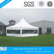 Aluminium pole PVC fabric material Pagoda Tent