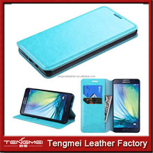 mobile phone case for Samsung galaxy a7 ,PU leather case for galaxy a7, wallet flip case for samsung a7