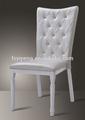 el hotel apilable silla del banquete de imitación de madera silla de restaurante