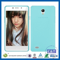 C&T Super THIN Soft Slim Crystal Clear TPU Cover Back Phone Case for Oppo Joy 3