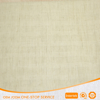 Textiles&leather product fabric linen/cotton blend Fabric