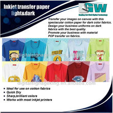 Papel transfer / papel para inkjet