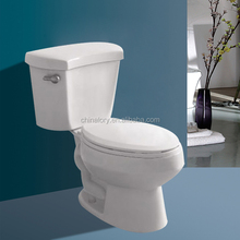 UPC Certified Siphonic Two Piece Toilet Round-Front Toilet