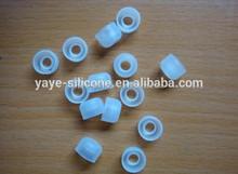 Compression molding silicone rubber