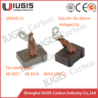 JASX10-11 68-8217 carbon brush for Nippondenso 3.0kW, 5.5kW OSGR Starters parts