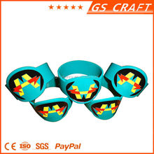 Custom Made Printiing Silicone Bracelet in Any Color/rubber bracelet