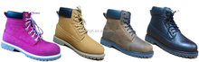 pink/honey/brown/black color hot selling high quality safety work boots for men ans women