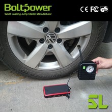 12V scooter jumping starter BoltPower patent 12000mAh CE 3C gasoline diesel mini jump starter in real strict quality control