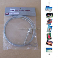 fridge magnet type magnetic photo frame rope