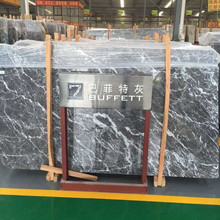 Buffett Grey Natural Stone Big Marble Slab