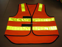 Hot Selling Security Warning High Quality Kids Reflective Safety Vest with Reflective Tape