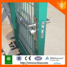Color iron fence gates design and fences