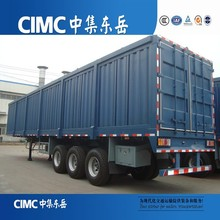 cimc tri eje caja furgoneta o camión semi remolque para la venta