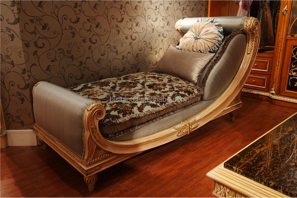 Luxury french style living room chaise lounge elegant for Another word for chaise lounge