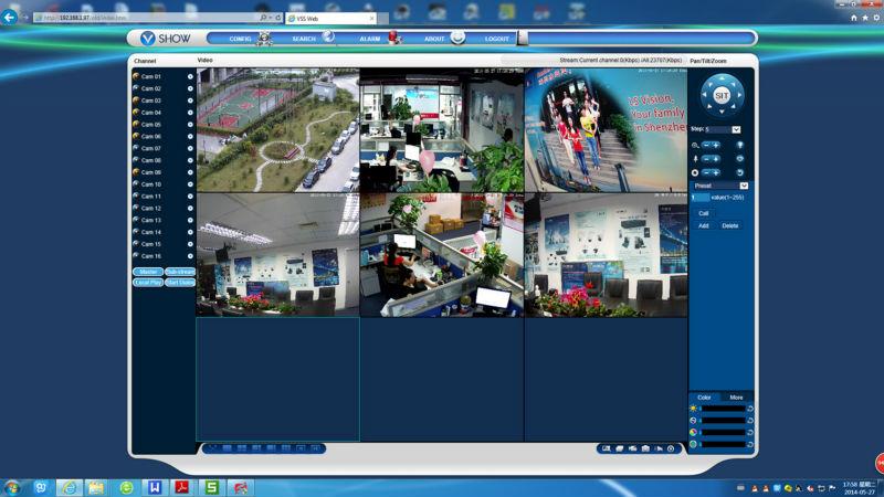 16 Channel Security DVR - 16 Camera H264 CCTV DVR