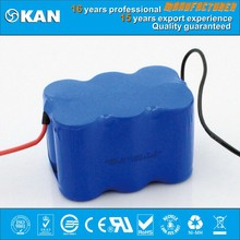 KAN ni-mh 7.2V 6xSC1500mAh rechargeable battery pack for rc toys, rc car, boat, helicopter or R/C model