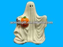 Halloween ceramic ghost