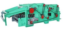 High Efficiency The New Desigh recycling rags Waste cotton fiber carding machine price NSX-QT400-2 Factory direct sales