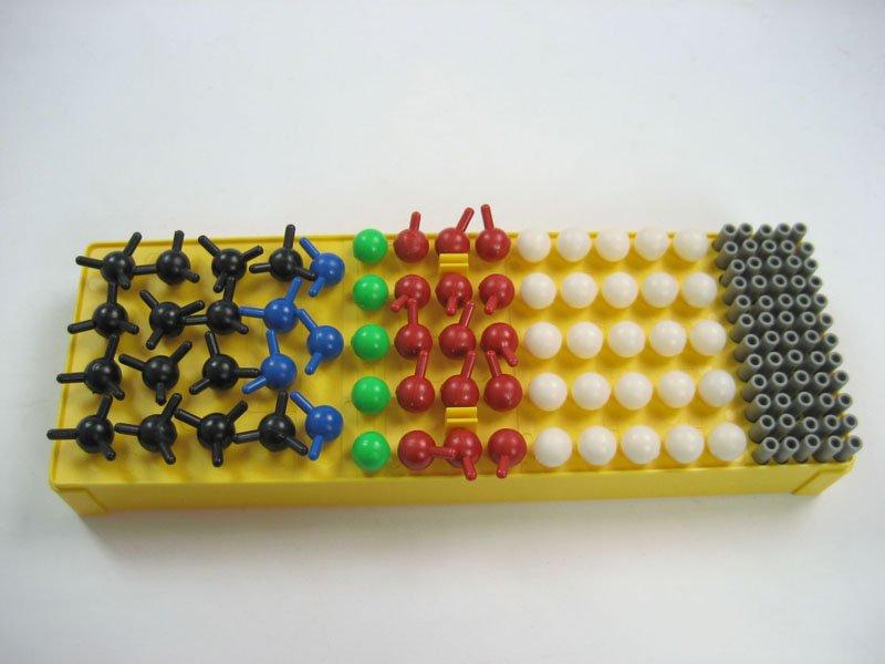 Modelo de enseñanza / no - orgánica de sustancias Molecular estructura de construcción Kit