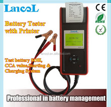 Car Battery tester with printer MICRO-768 Conductance Tester for 4S shop/Digital battery tester/auto battery tester