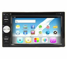 6.2inch capacitive touch screen android 4.2.2 car telephone stereo with GPS navigator 3D UI WIFI Bluetooth Radio SWC