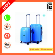 Tsa Lock Luggage Built-in Caster and PP Material Luggage Trolley Bag