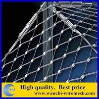 China lowest price wire rope mesh