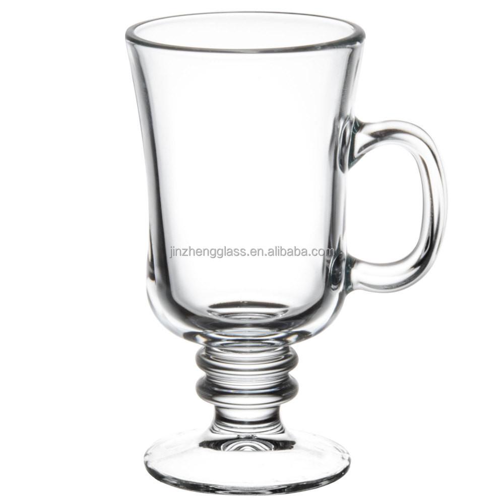 Wholesale Irish Coffee Mug Tea Coffee Mug Clear Travel Cup