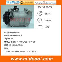 6CA17C AUTO A / C compresor de Mercedes Benz W202 C180 C220 C36