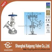 Thermal insulation, pneumatic, pneumatic and manual discharge valve