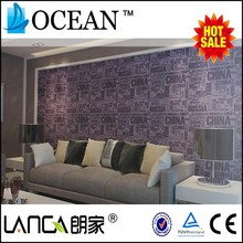 lanca Fashion style modern decorative wall paper rolls of wallpaper