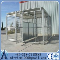 fold wire pet cage crate kennel dog house with removable metal tray