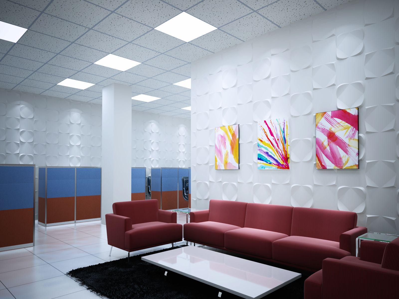 500*500mm Interor Decoration 3d Wall Panel Johor Bahru - Buy 3d Wall ...