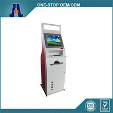 LED display touch screen kiosk with thermal printer,A4 laser printer touch screen kiosk with industrial PC (HJL-3361)