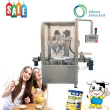 High filling accuracy and speed granule or powder canning machine for jars