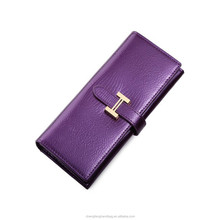 latest design ladies party purse,ladies leather wallet with change purse