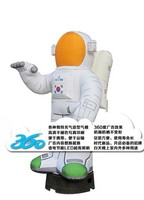 HD Digital Printing 3D cartoon astronaut portfolio Inflatables