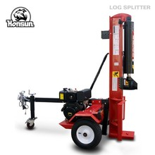 (HS-LS-50TD) 14 years manufacturer experience factory direct horizontal vertical hydraulic 50 ton diesel log splitter