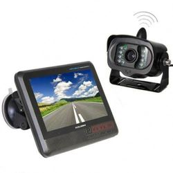 2015 Best 7inch 2.4Ghz Waterproof rear view camera for cars