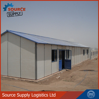 prefabricated house, prefabricated house for construction camp buiding site camp