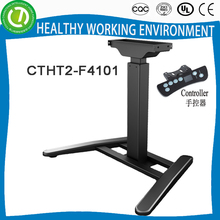 Tell World customers roll top height adjustable corner desk frame for sale