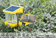 CE approved water working DC Solar insect killer lamp with Rain control for longhorn beetle control for fruitfly blueberry, farm