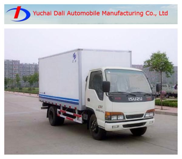 Isuzu 1-3t mini camión de carga camioneta mejor venta