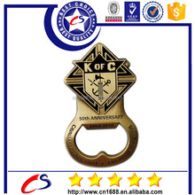 Best quality cheap gold plated metal beer bottle opener for sale