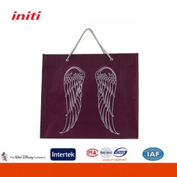 2016 Factory Sale Quality Clear Nonwoven Tote Bag for Shopping