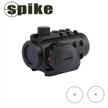 Compact Red Dot Red & Green Dot Sight /Tactical rod dot sight for rifles/20mm rail mounts