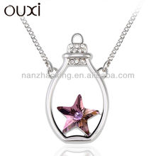 OUXI PURPLE Crystal Jewelry of final fantasy necklace made with Swarovski Elements