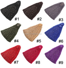 Total 9 colors available- fashion women wide style in stock boho headband