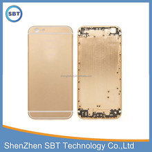 Popular back cover for iphone 6 housing, for iphone 6 gold housing
