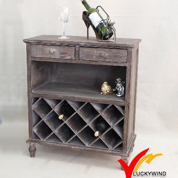 LWHW10170BR-10-JBR antique wine cabinet.jpg - Shabby Chic Living Room Antique Wine Cabinet - Buy Antique Wine